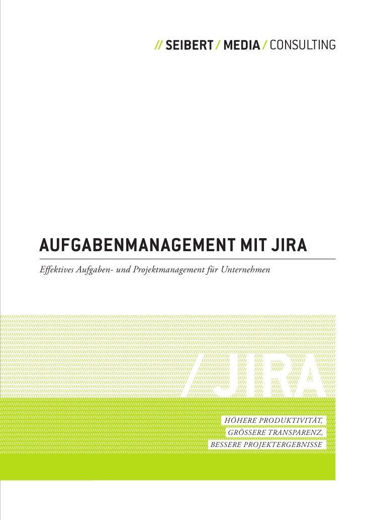 Aufgabenmanagement mit Jira