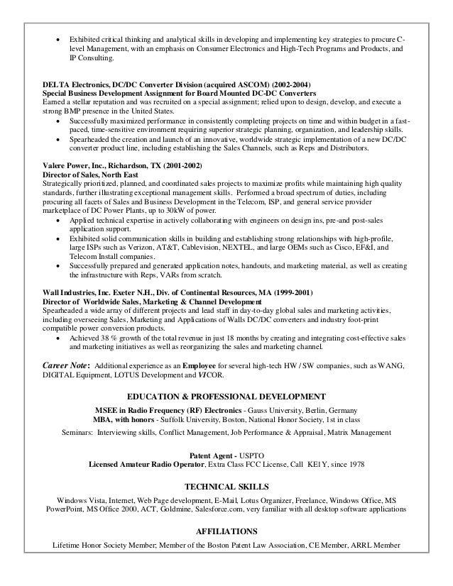 resume analytical skills