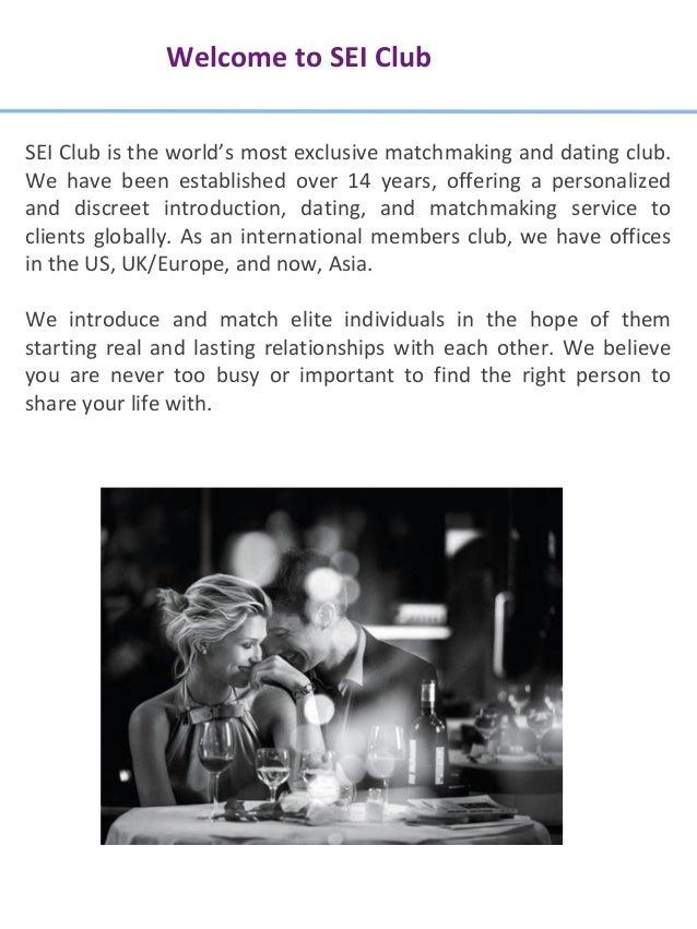 Sei club about