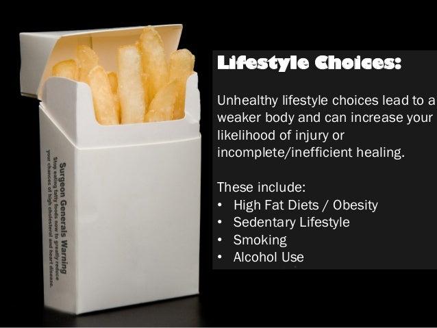 Resultado de imagen para unhealthy lifestyle choices