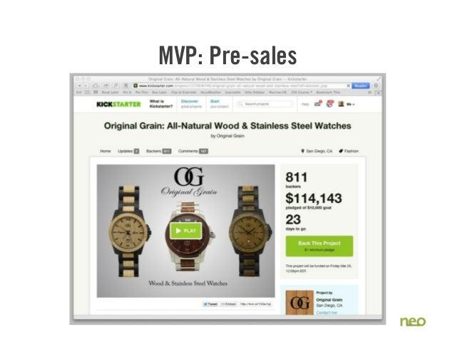 MVP: Pre-sales 30
