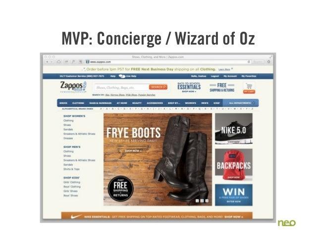 MVP: Concierge / Wizard of Oz