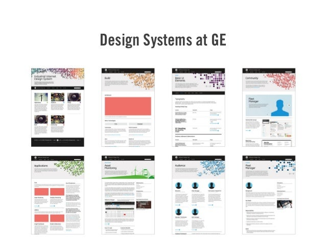 Design Systems at GE 43