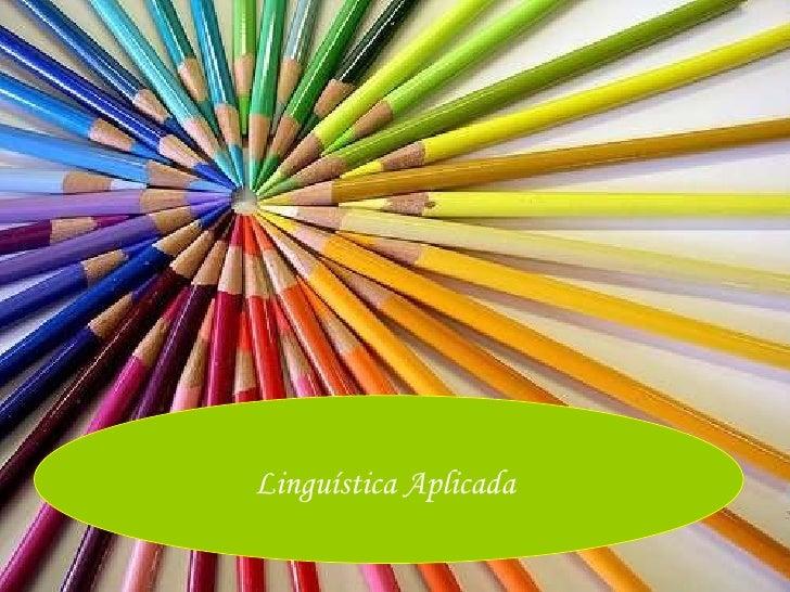 Linguística Aplicada
