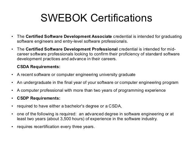Software Engineering Discipline in a Nutshell