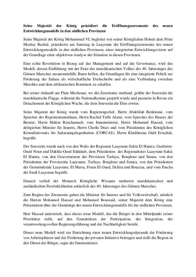 Seine Majestät der König präsidiert die Eröffnungszeremonie des neuen Entwicklungsmodells in den südlichen Provinzen Seine...