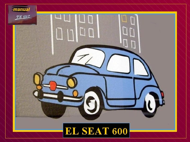 EL SEAT 600 manual