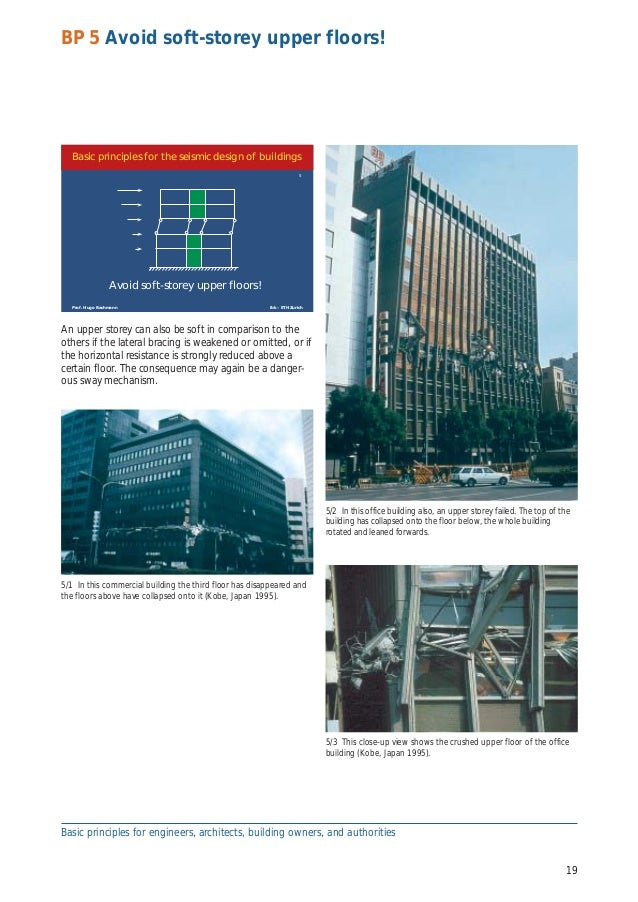 seismic conceptual design Aspects, from conceptual design to connection detailing, aims to help engineers move away from blindly following prescriptive codes in their design to basic principles, in order to achieve a more robust understanding, and thus control, of the seismic behavior of the structural.