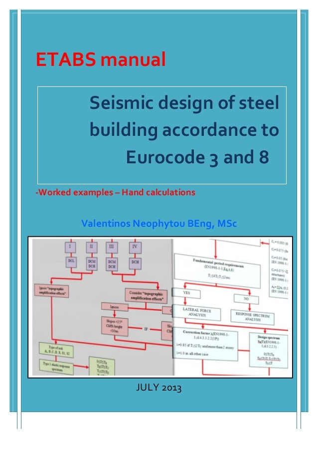 Seismic	   design	   of	   steel	    building	   accordance	   to	   	   	    Eurocode	   3	   and	   8	    	 ...
