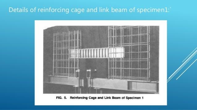 Seismic Response Of Steel Beams Coupling Concrete Walls