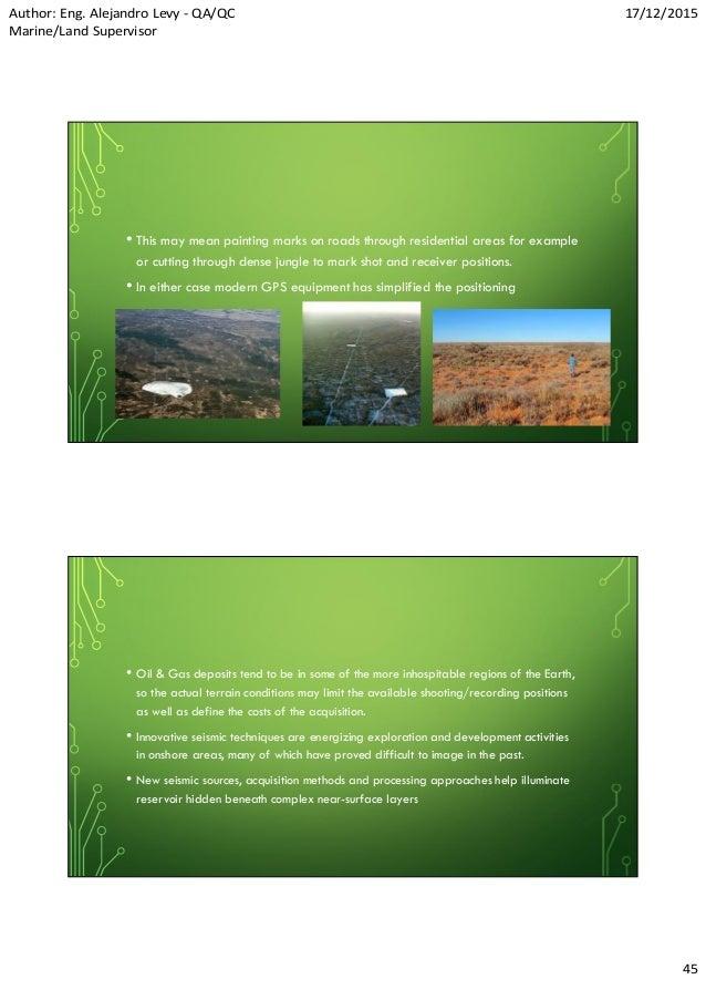 Seismic Exploration And Fracking