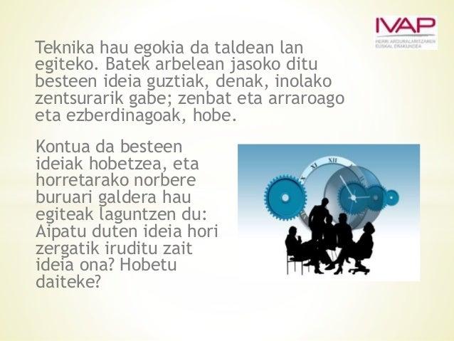 Beste aukera bat da kontuan hartu nahi ditugun elementu guztiak aztertzeko honelako koadro bat erabiltzea: