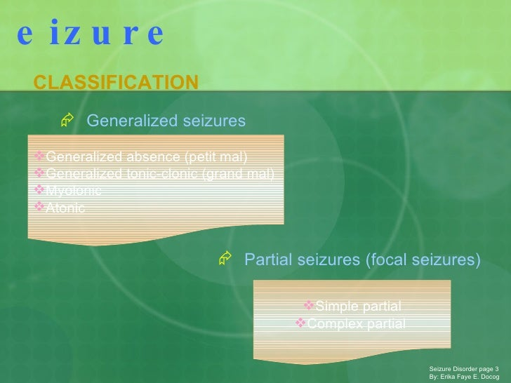 Seizure Ppt Etc Slide 3