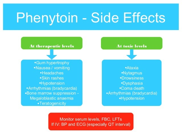 Phenytoin Side Effects Long Term
