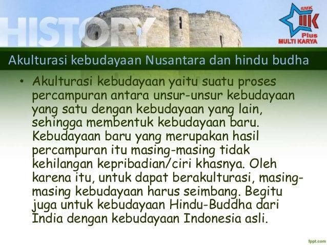 Akulturasi Percampuran Budaya Hindu Dan Budha Nusantara