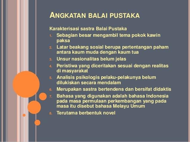 Sejarah sastra-indonesia-modern