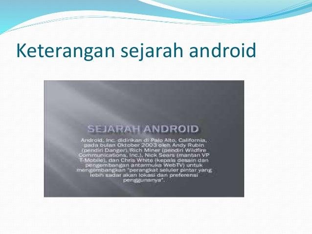Sejarah android Aditya Canakia Slide 2