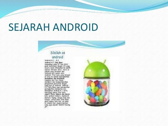 Sejarah android Aditya Canakia Slide 3