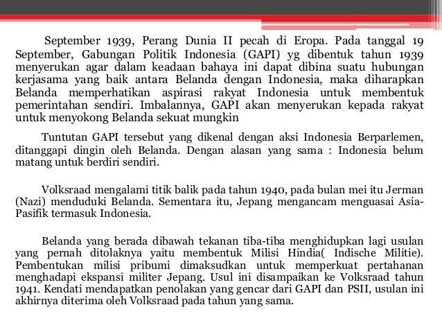PERKEMBANGAN PERGERAKAN NASIONAL INDONESIA - Sejarah bab 3