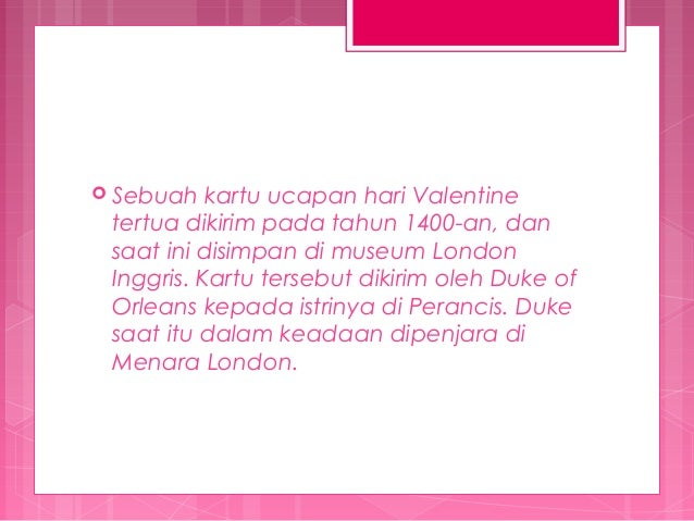Image Result For Sejarah Valentine