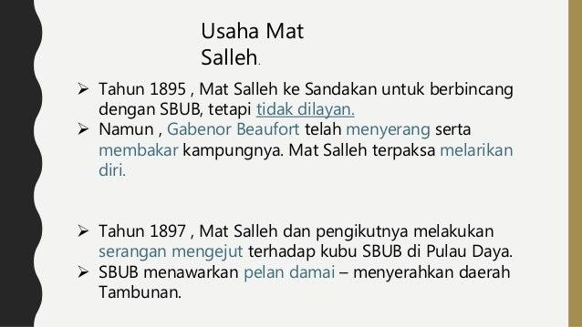 Sejarah F5 Mat Salleh
