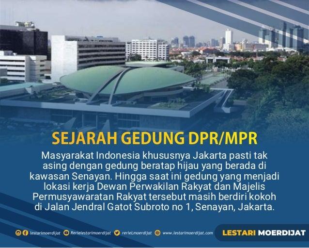 Masyarakat Indonesia khususnya Jakarta pasti tak asing dengan gedung beratap hijau yang berada di kawasan Senayan. Hingga ...