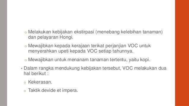 Sejarah Indonesia SMA Kelas XI - Lahirnya VOC 1602-1799