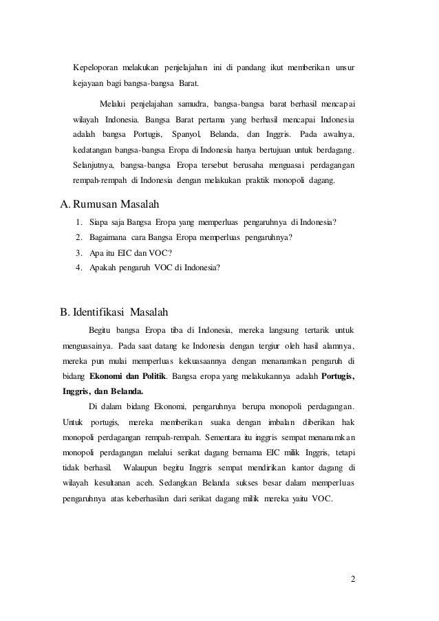 Sejarah Indonesia Isi