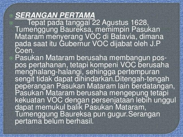 Pertempuran Sultan Aggung vs J.P Coen