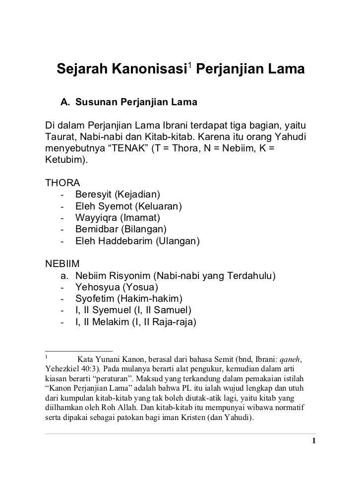 Lama pdf perjanjian alkitab