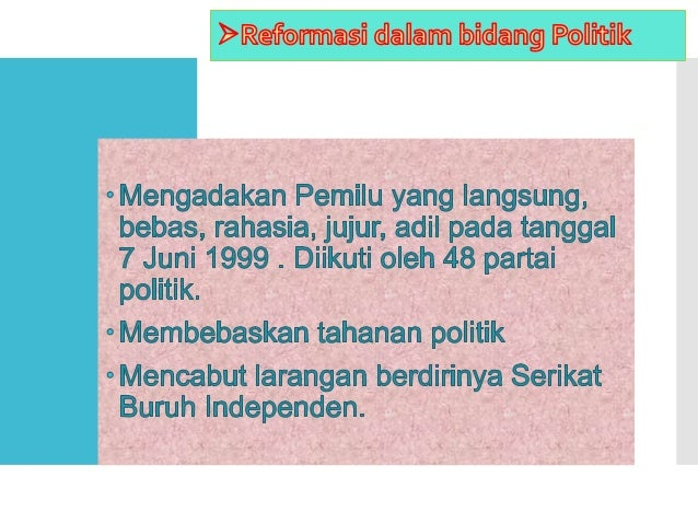 10. TAP NO.XVI/MPR/1998. politik ekonomi dalam rangka demokrasi ekonomi. 11.TAP NO. XVII/MPR/1998. hak asasi manusia. 12.T...