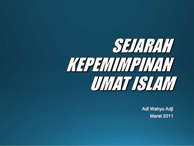 Adi Wahyu AdjiMaret 2011