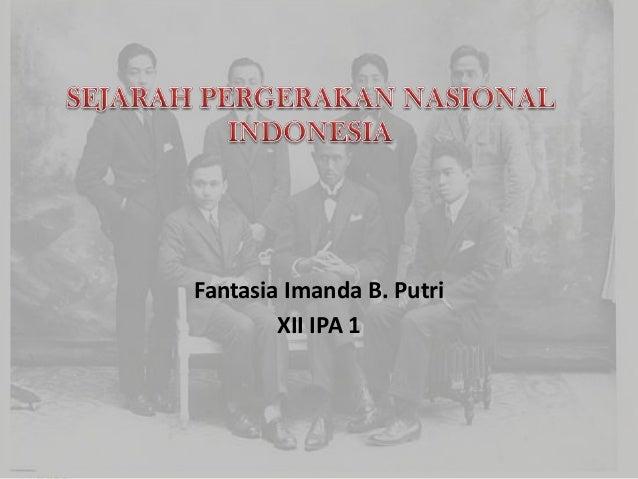 Fantasia Imanda B. Putri XII IPA 1
