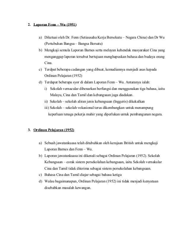 Perkembangan Pendidikan Tajuk Sejarah Pendidikan Di Malaysia Tu