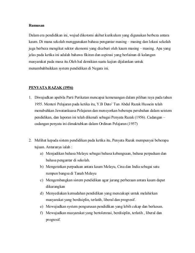 Zaenal Abidin Jurnal Sistem Pendidikan Di Malaysia