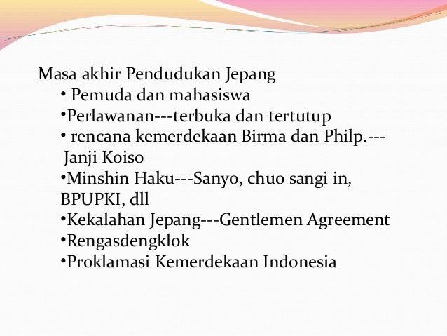 Sejarah Perjuangan Kemerdekaan Indonesia