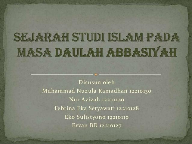 Disusun olehMuhammad Nuzula Ramadhan 12210130        Nur Azizah 12210120   Febrina Eka Setyawati 12210128      Eko Sulisty...
