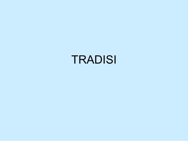 TRADISI
