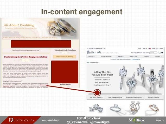 www.rowedigital.com PAGE 18 #SEJThinkTank @_kevinrowe   @rowedigital In-content engagement