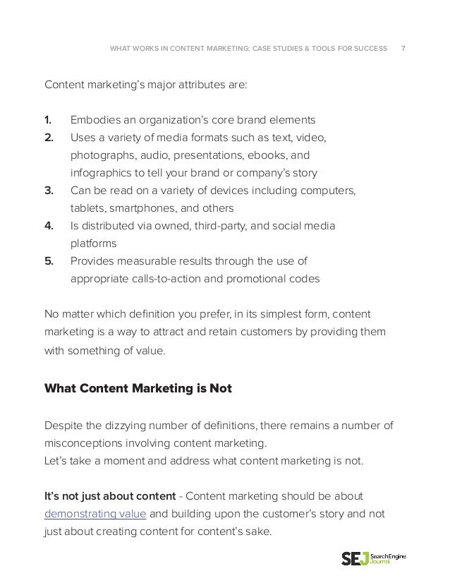 Sej content marketing white paper 7 fandeluxe Image collections