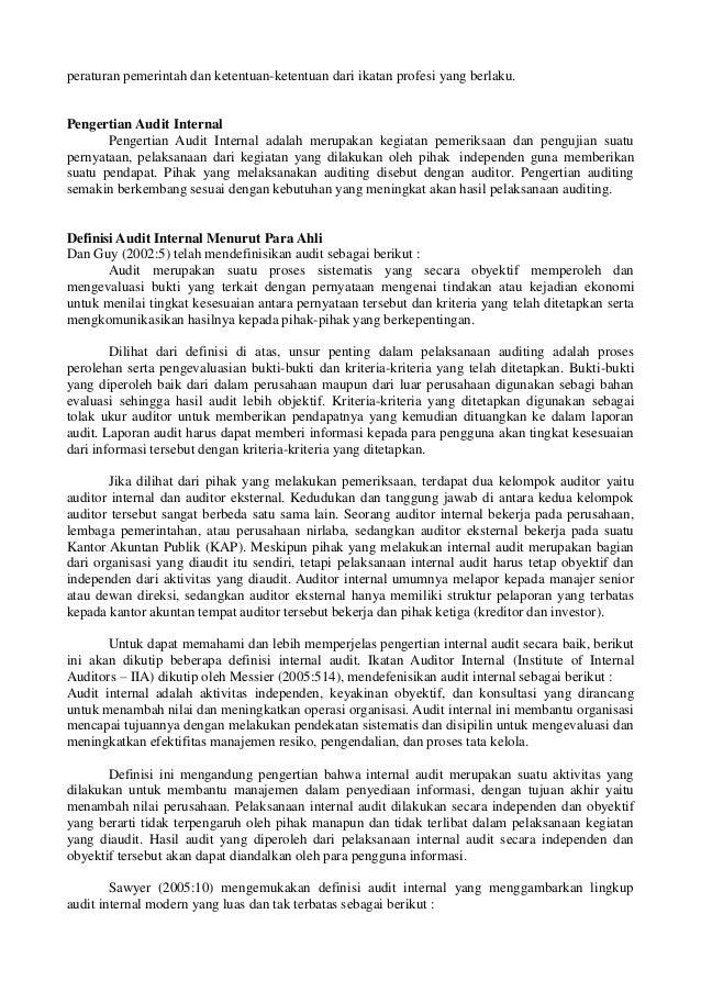 Sekar Kumudasari 55117110117 Prof Hafzi Mm Cma Audit Internal C