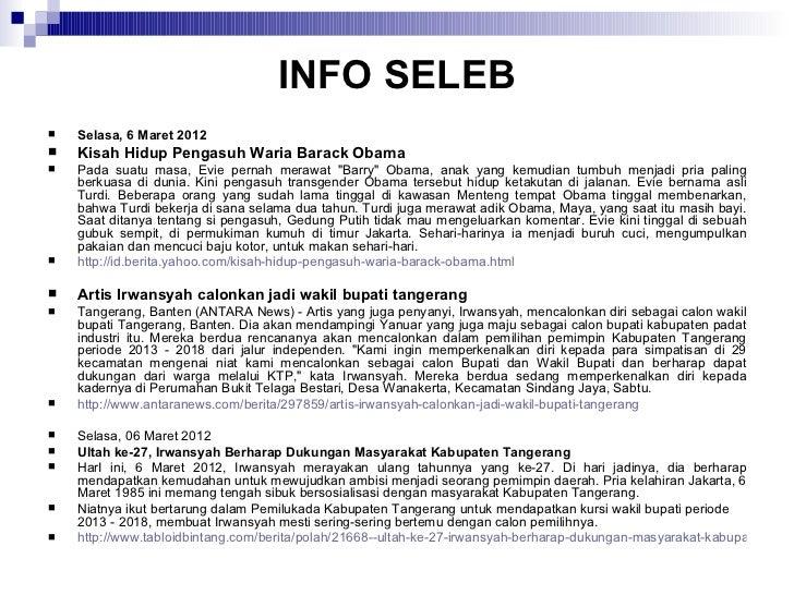 Sekilas info seleb week 1210 Slide 2