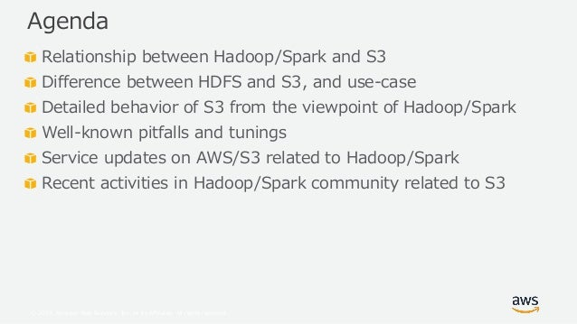 Amazon S3 Best Practice and Tuning for Hadoop/Spark in the Cloud