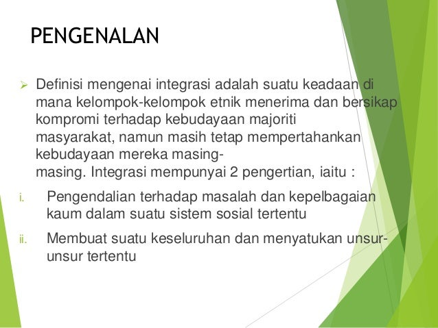 Sekolah Integrasi
