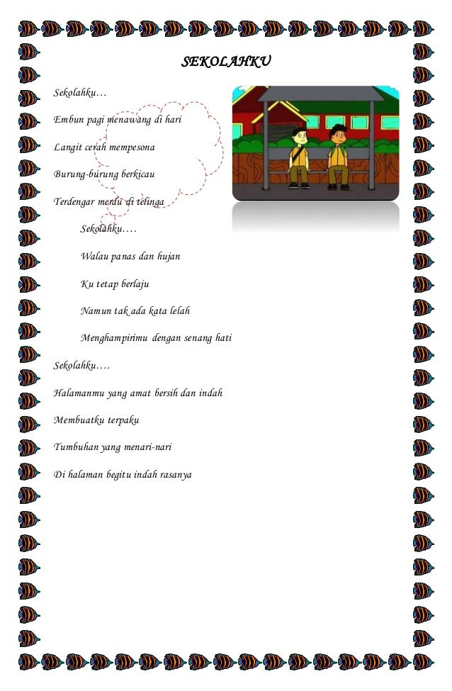 Kumpulan Puisi Sekolahku