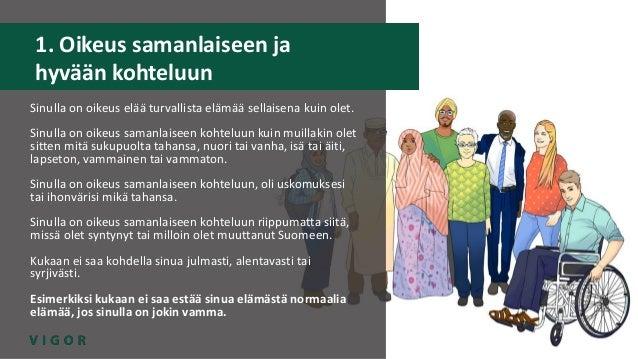 VIGOR-hanke: Seksuaalioikeudet Slide 2