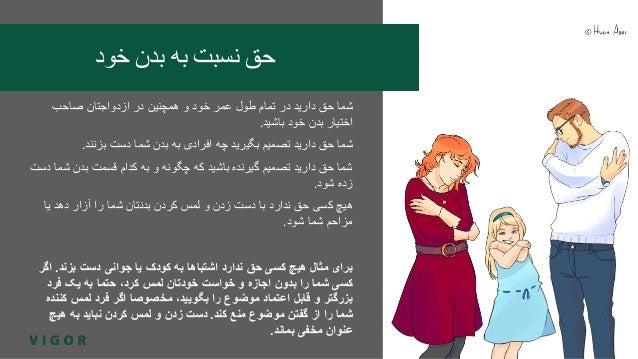 VIGOR-hanke / project: Seksuaalioikeudet farsiksi (persia) / Sexual rights in Farsi (Persian) Slide 3