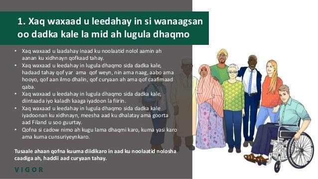 VIGOR-hanke / project: Seksuaalioikeudet somaliksi / Sexual rights in Somali Slide 2