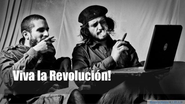 Viva la Revolución! Mauricio Moreno (CC BY 2.0)