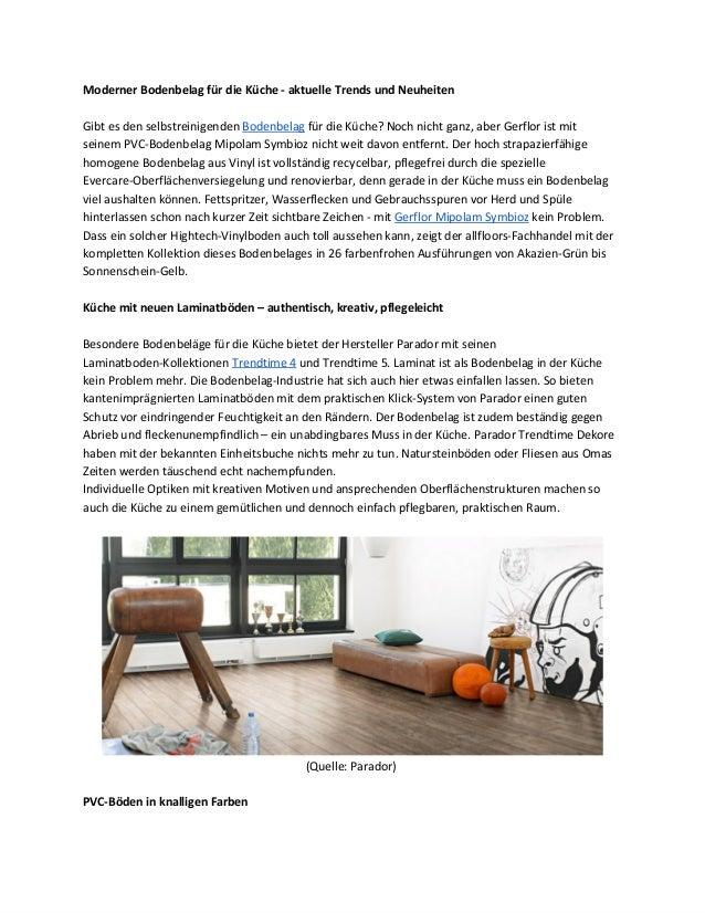 selbstreinigender bodenbelag f r die k che. Black Bedroom Furniture Sets. Home Design Ideas